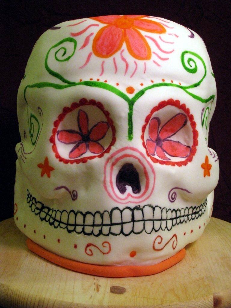 El Día de los Muertos Skull